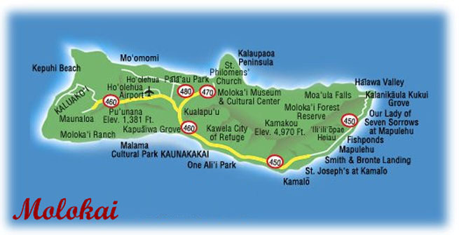 Hawaiian Honeymoons Molokai Overview Activities Photos